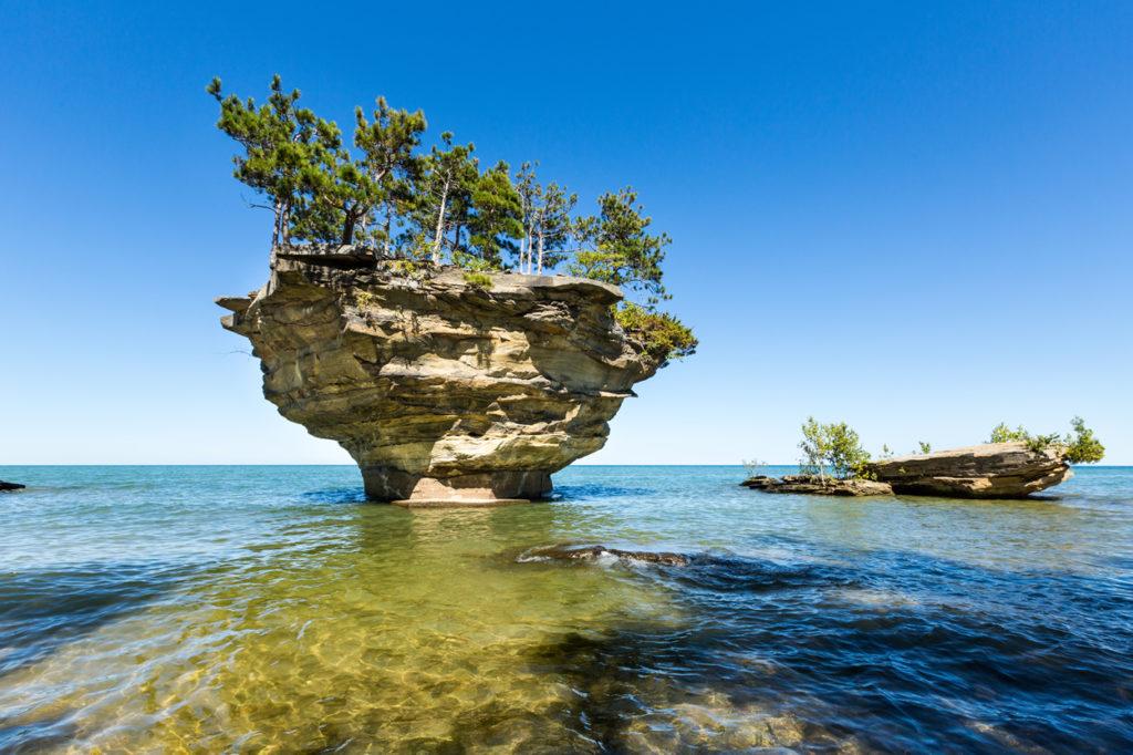 Michigan Road Trips - Turnip Rock